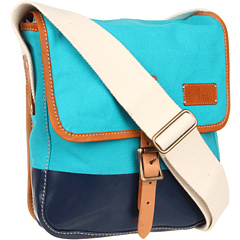 SALE! $89.99 - Save $108 on Cole Haan Hermitage Newspaper Bag (Poolside Canvas Blazer Blue) Bags and Luggage - 54.55% OFF $198.00