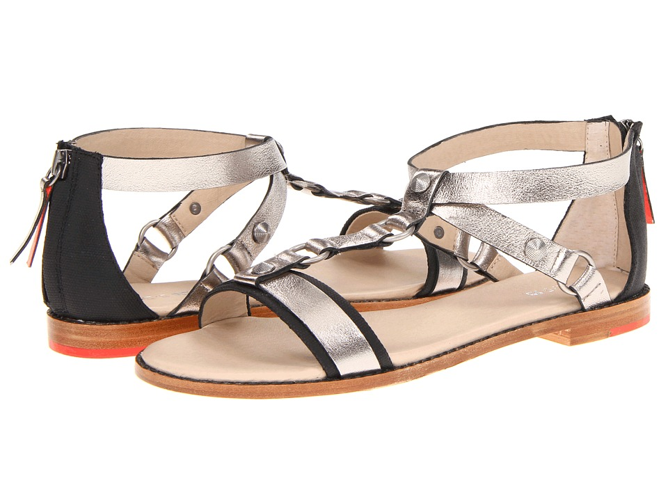 Joe's Jeans - Karma (Silver/Black) Women's Sandals
