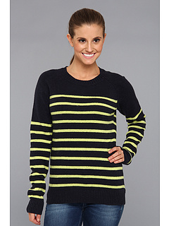SALE! $36.99 - Save $28 on Columbia Behind The Lines Crew Sweater (Abyss Fresh Kiwi) Apparel - 43.09% OFF $65.00