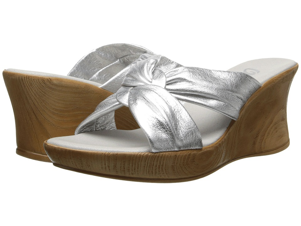 Onex - Puffy (Silver) Women's Wedge Shoes