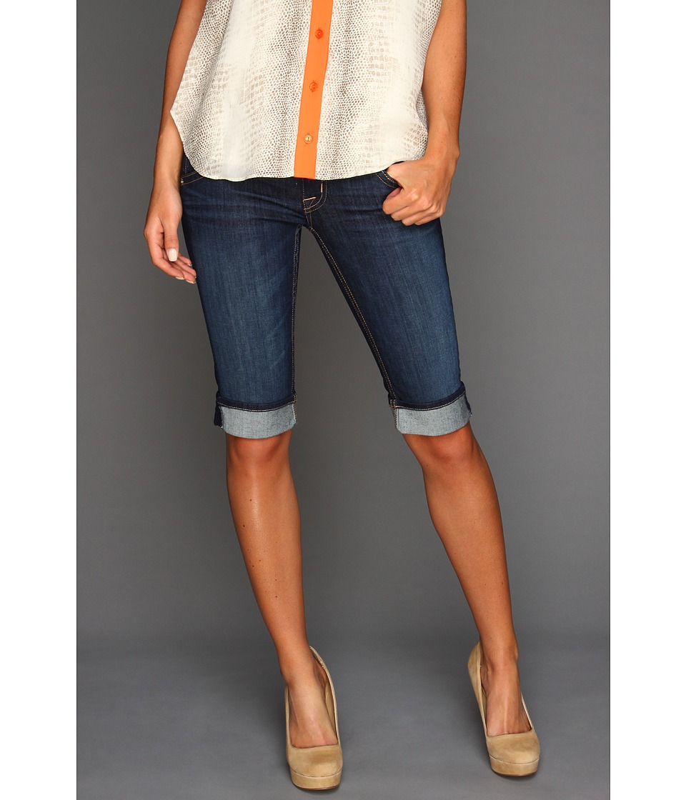 Hudson - Palerme Knee Cuffed Short in Stella (Stella) Women's Jeans