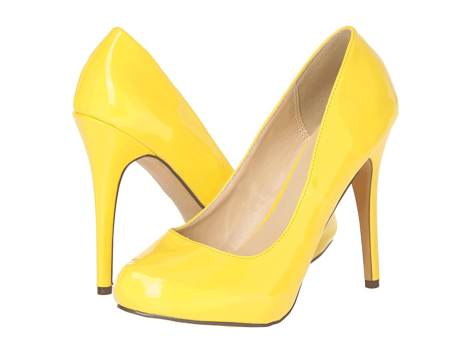 Michael Antonio - Love Me (Yellow Patent) High Heels
