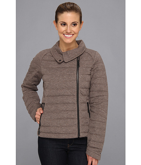 Lole - Celine Jacket (Walnut Heather) Women's Coat