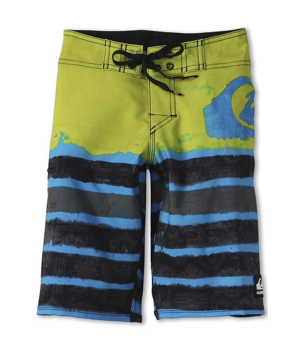 Quiksilver Kids Cypher Kelly Roam Boardshort Boys Swimwear (Green)