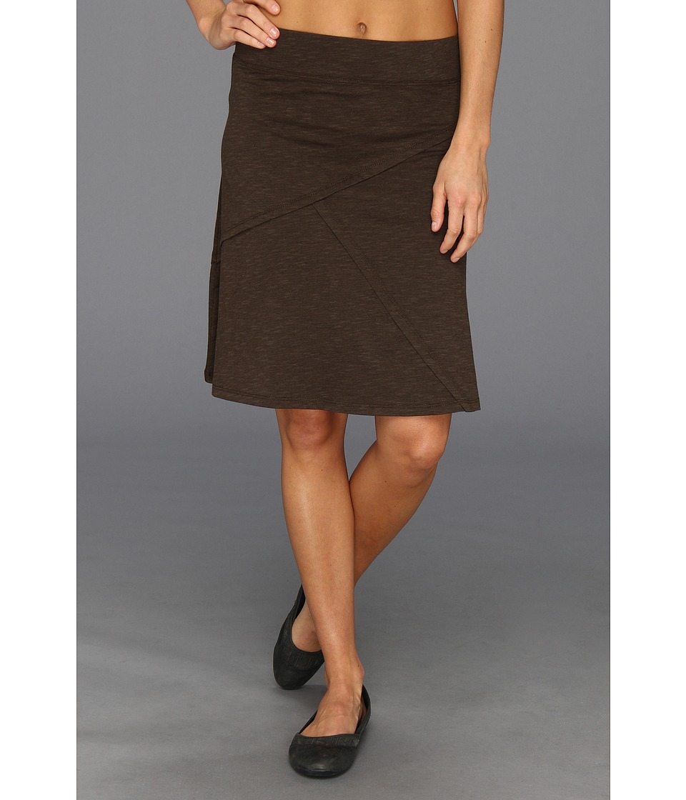 Toad&Co - Oblique Skirt (Turkish Coffee) Women's Skirt