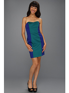 SALE! $39.5 - Save $118 on French Connection Cabana Wizard 71KS9 (Royal Blue Tribal Teal) Apparel - 75.00% OFF $158.00