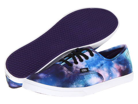 Vans - Authentic Lo Pro ((Cosmic Galaxy) Black/True White) Skate Shoes