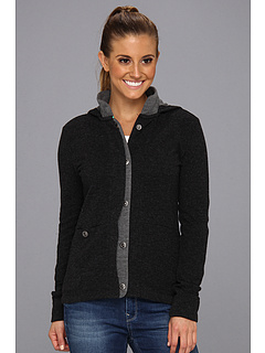 SALE! $46.99 - Save $88 on Horny Toad Monterosa Hooded Jacket (Black Heather Smoke) Apparel - 65.19% OFF $135.00