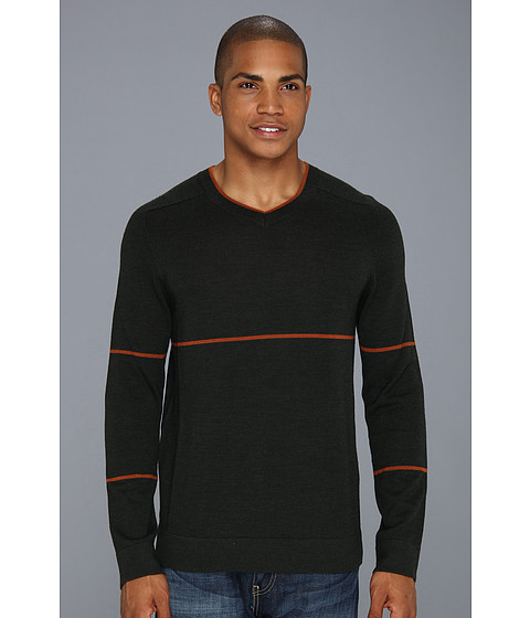 Toad&Co - Vector Shirt (Spruce/Copper) Men's Long Sleeve Pullover