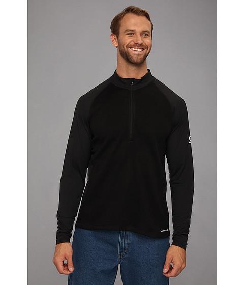 Merrell - Alpino (Black) Men's Long Sleeve Button Up