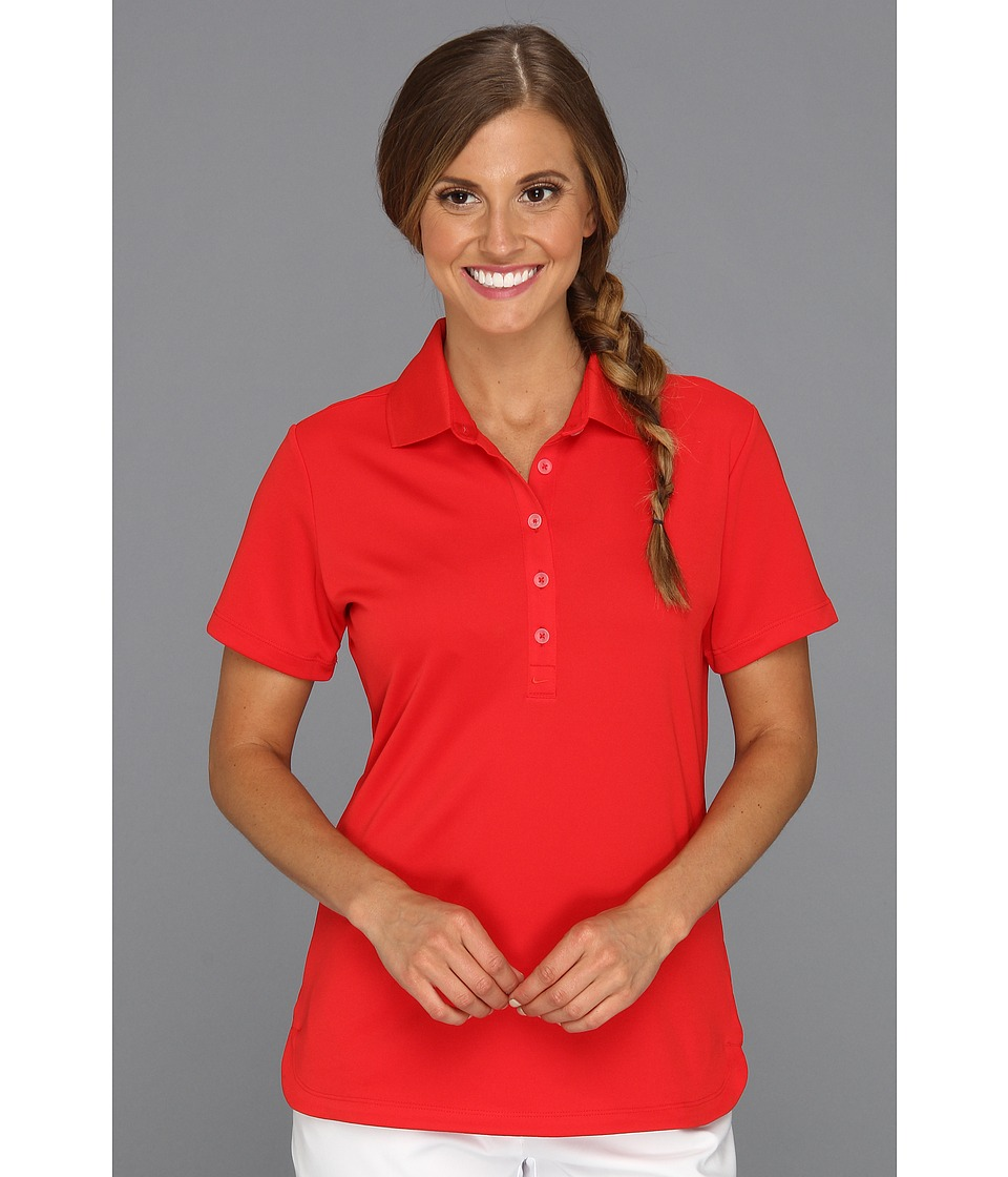 Nike Golf - Nike Victory Polo (University Red/University Red) Women's Short Sleeve Knit