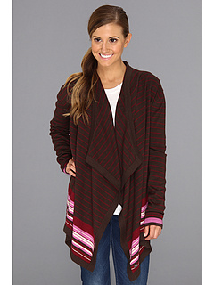SALE! $44.99 - Save $65 on Carve Designs Kinley Sweater (Brown Multi Stripe) Apparel - 59.10% OFF $110.00