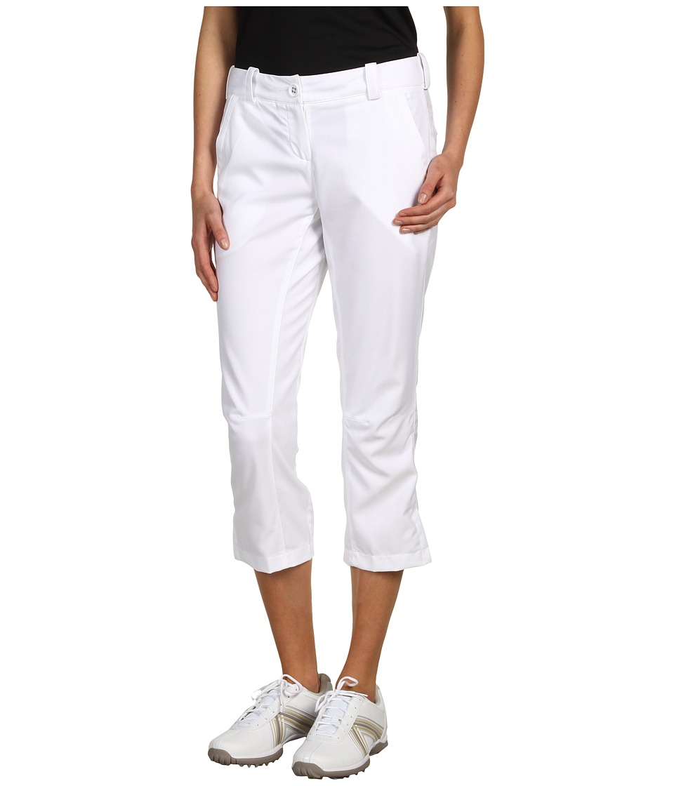 Nike Golf - Modern Rise Tech Crop Pant (White/White) Women's Casual Pants