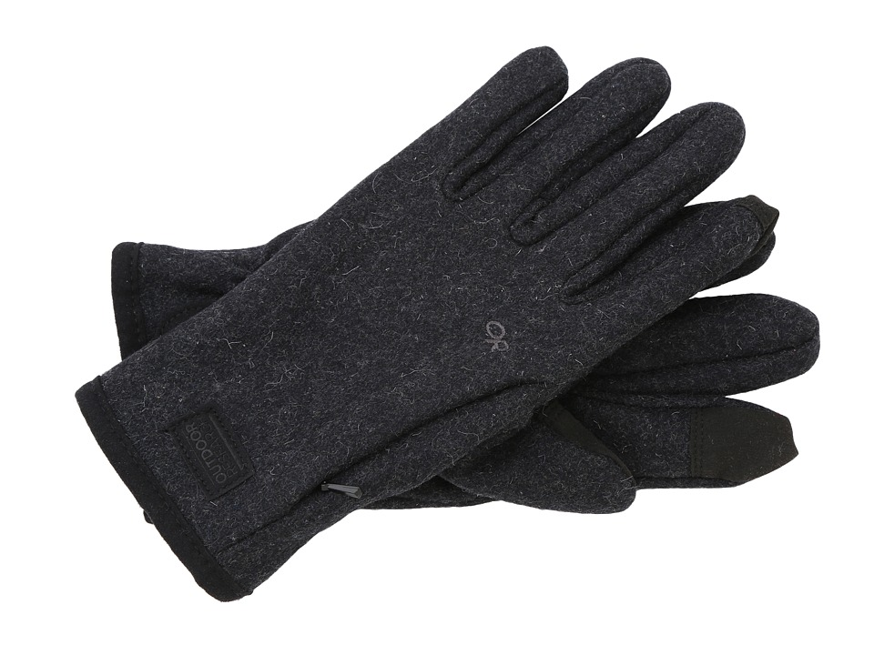 Outdoor Research - Turnpoint Sensor Gloves (Charcoal) Extreme Cold Weather Gloves