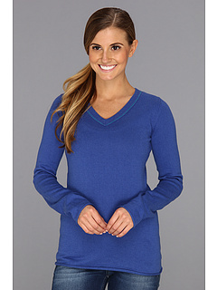 SALE! $21.99 - Save $46 on Carve Designs Gramm Sweater (Moon Blue) Apparel - 67.66% OFF $68.00
