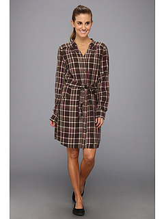 SALE! $34.99 - Save $81 on Carve Designs Holton Dress (Light Brown Plaid) Apparel - 69.84% OFF $116.00