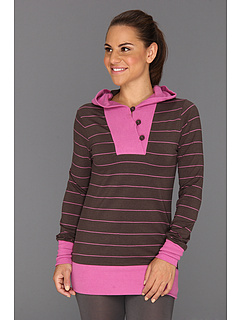SALE! $26.99 - Save $37 on Carve Designs Maison Hoodie (Brown Stripe) Apparel - 57.83% OFF $64.00