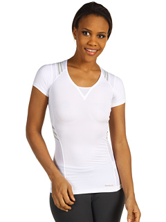 SALE! $19.25 - Save $36 on Reebok East Tone Taped S S (White) Apparel - 65.00% OFF $55.00