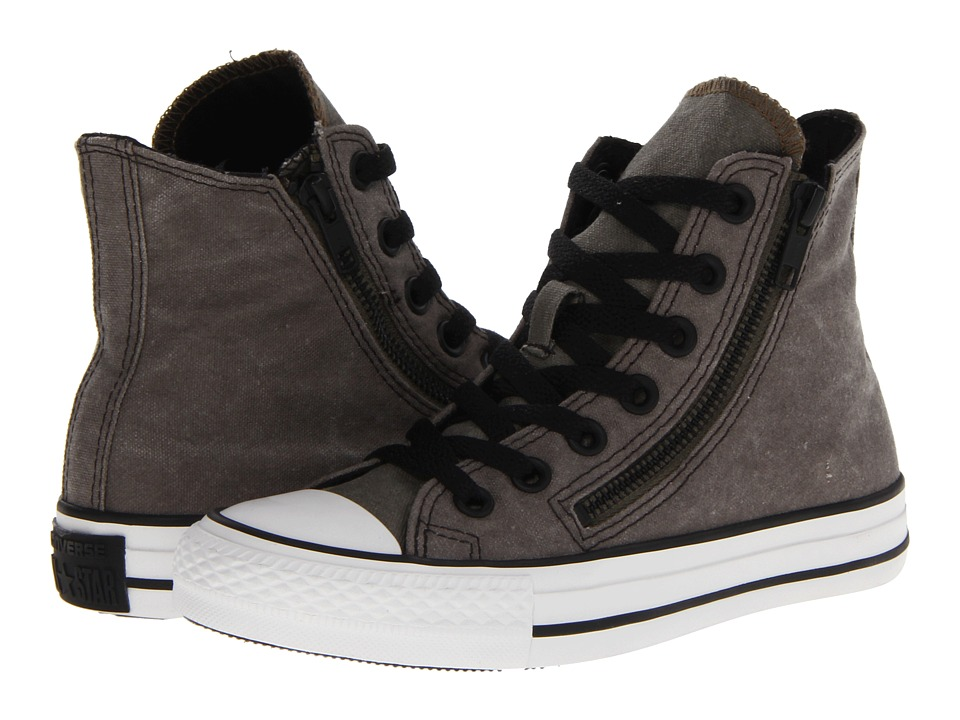 Converse - Chuck Taylor All Star Double Zip Hi (Grape Leaf) Shoes