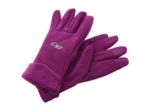 Outdoor Research - Fuzzy Gloves (Orchid) Extreme Cold Weather Gloves