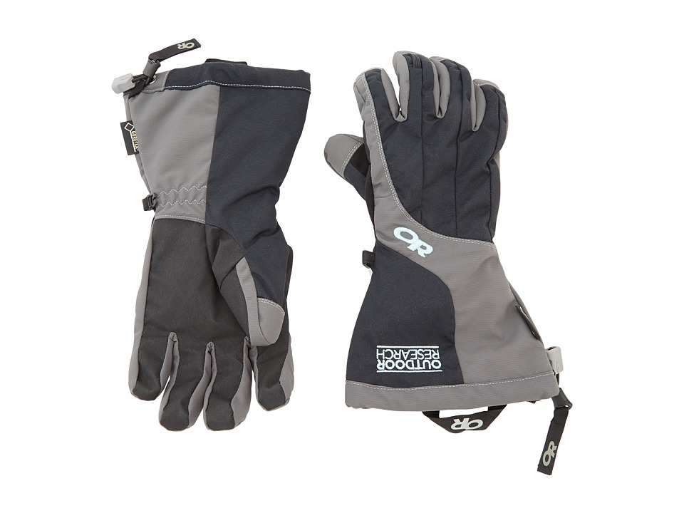 Outdoor Research - Arete Gloves (Black/Charcoal) Extreme Cold Weather Gloves