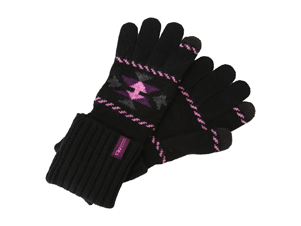 Outdoor Research - Puebla Sensor Gloves (Charcoal/Crocus) Extreme Cold Weather Gloves