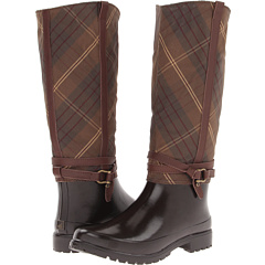 Sperry Top-Sider Everham (Brown/Oilcloth Check) Women's Rain Boots