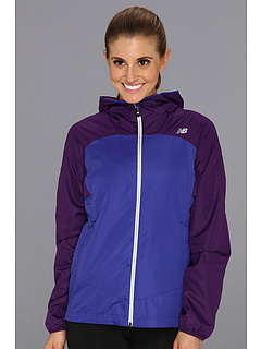 SALE! $44.07 - Save $26 on New Balance Sequence Hooded Jacket (Azurite Acai) Apparel - 37.04% OFF $70.00