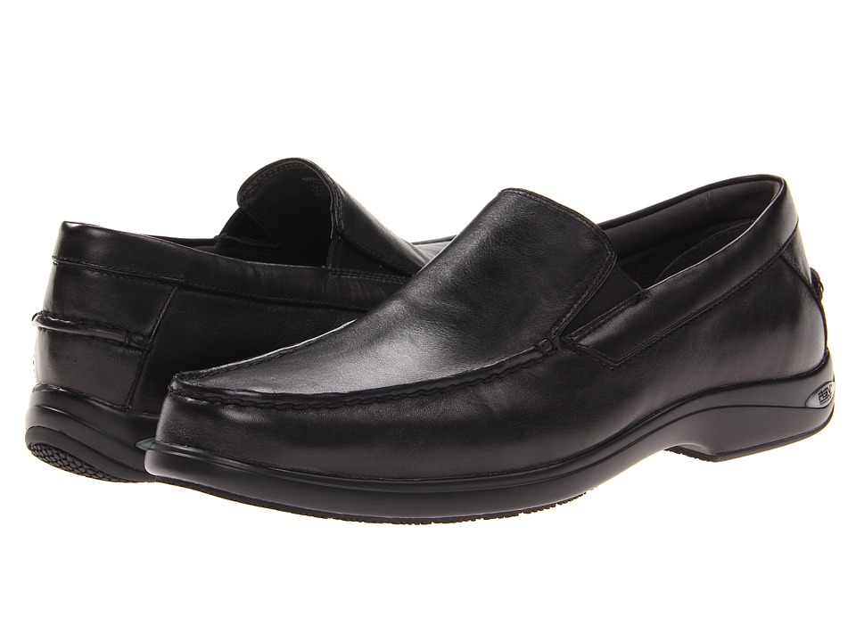 Sperry Top-Sider - Gold Cup ASV Boothbay Venetian Loafer (Black) Men's Slip on Shoes