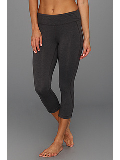 SALE! $26.99 - Save $33 on New Balance Anue Spree Capri (Black Heather) Apparel - 55.02% OFF $60.00