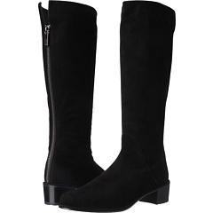 Stuart Weitzman Rambler (Black Suede) Footwear