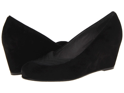 Stuart Weitzman - Timelines (Black Suede) Women's Shoes