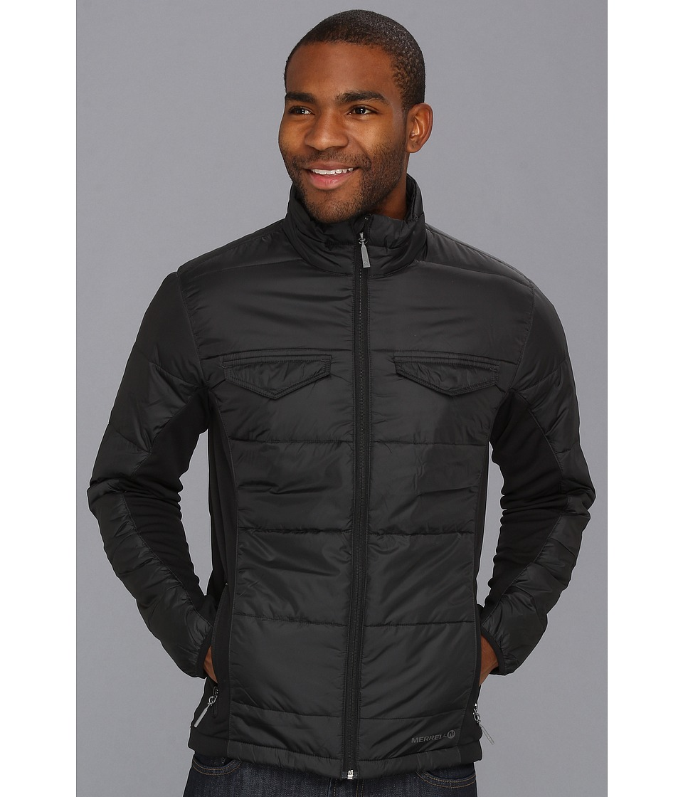 Merrell - Quentin Jacket (Black) Men's Coat