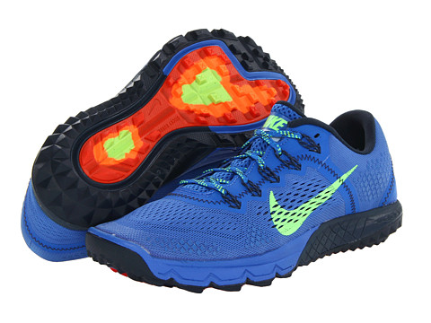 Nike Zoom Terra Kiger (Prize Blue/Armory Navy/Team Orange/Flash Lime) Men's Running Shoes