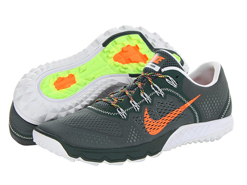 Nike Zoom Terra Kiger (Vintage Green/Pure Platinum/Flash Lime/Total Orange) Men's Running Shoes