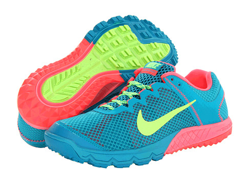 Nike Zoom Wildhorse (Tropical Teal/Atomic Red/Flash Lime) Women's Running Shoes