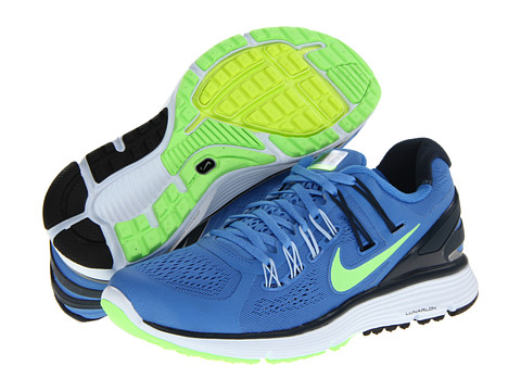 Nike Lunareclipse+ 3 (Distance Blue/Armory Navy/Flash Lime/Reflect Silver) Women's Running Shoes
