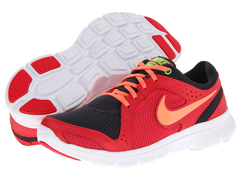 Nike Flex Experience Run 2 (Anthracite/Fushion Red/Flash Lime/Atomic Pink) Women's Running Shoes