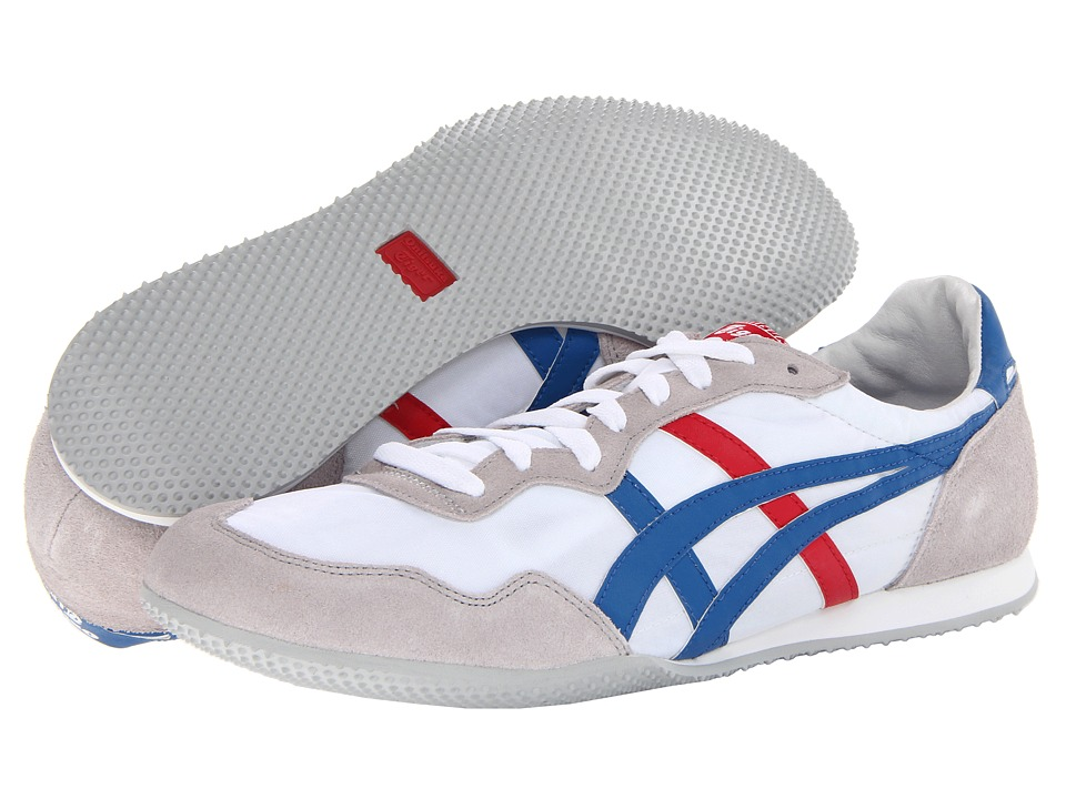 Onitsuka Tiger by Asics Serranotm (White/Blue) Classic Shoes