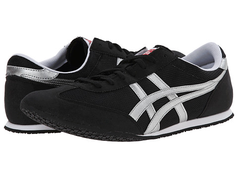 Onitsuka Tiger by Asics - Machu Racer (Black/Silver) Shoes