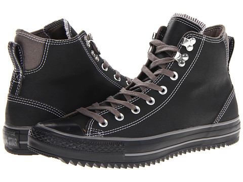 Converse - Chuck Taylor All Star City Hiker Hi (Black/Charcoal) Lace up casual Shoes