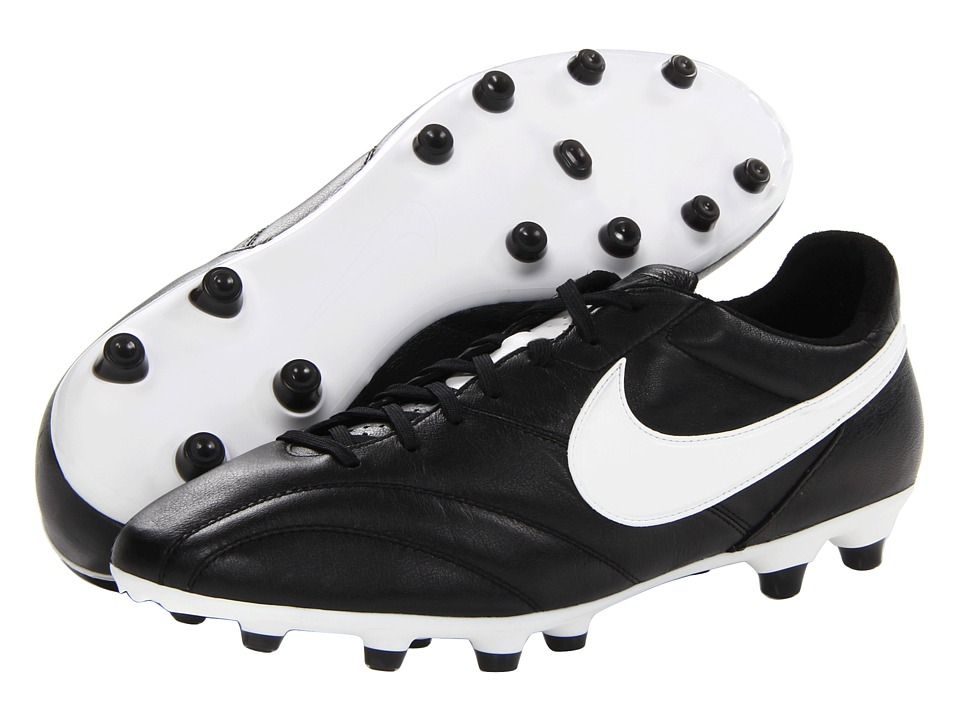 Nike - The Nike Premier (Black/Orange Blaze/Summit White) Men's Soccer Shoes