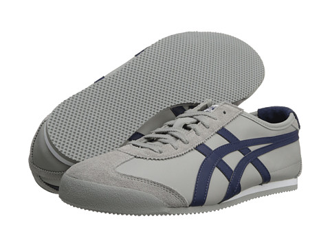 Onitsuka Tiger by Asics - Mexico 66 (Grey/Deep Blue) Shoes