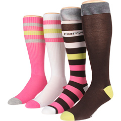 SALE! $14.99 - Save $7 on Converse Knee High 4 Pair Pack (Multi) Footwear - 31.86% OFF $22.00