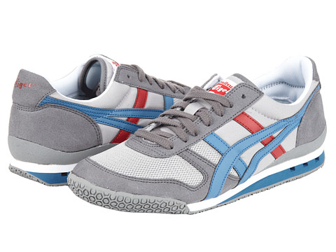 Onitsuka Tiger by Asics - Ultimate 81 (Light Grey/Captain Blue) Classic Shoes