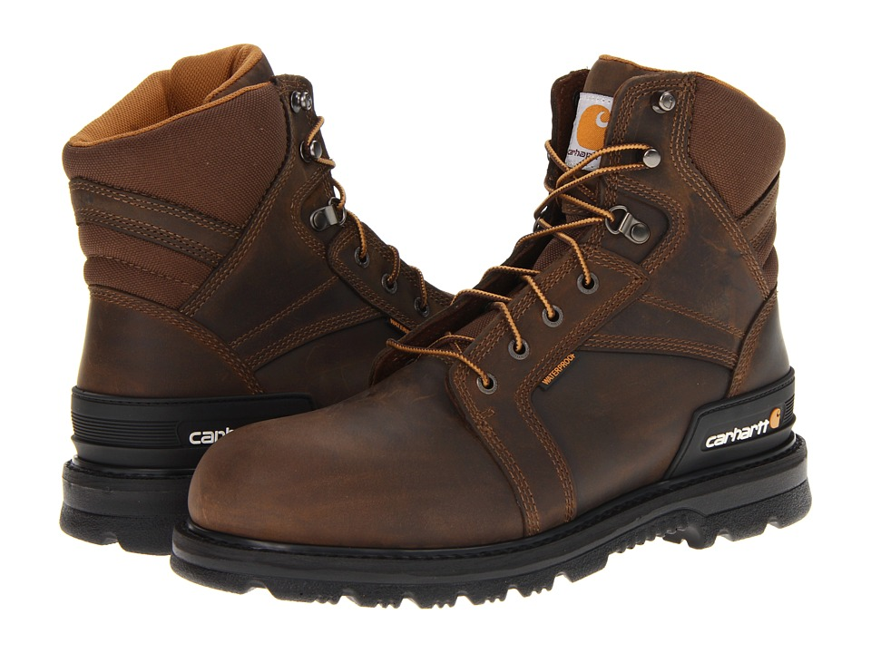 Carhartt 6 Work Fudge Boot (Fudge Oil Tan) Men
