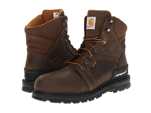 Carhartt - 6 Work Fudge Safety Boot (Fudge Oil Tan) Men's Work Boots