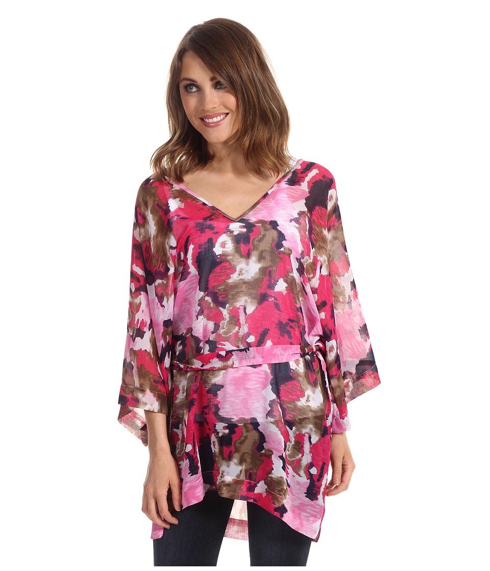 Tommy Bahama - Meridian Tunic W/ Wrap Tie (Pink Martini) Women