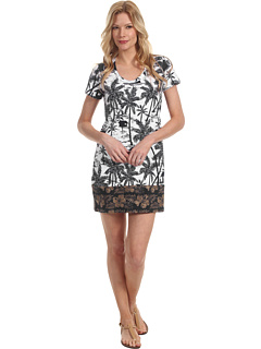 SALE! $28.7 - Save $53 on Tommy Bahama Tiki Moon T Shirt Dress (Beach Taupe) Apparel - 65.00% OFF $82.00
