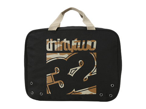 thirtytwo - Nimbus Boot Bag (Black/Camo) Bags